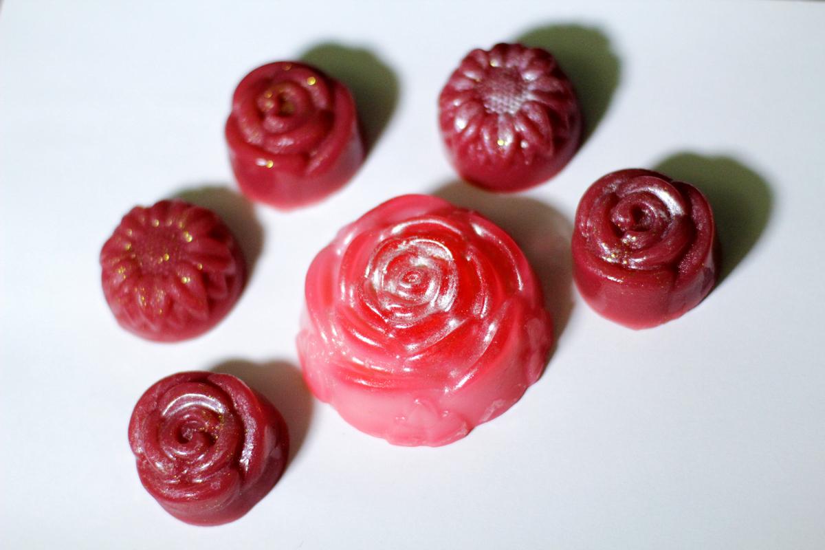 Мыло - розы