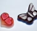 Мыло - сердце и бабочка